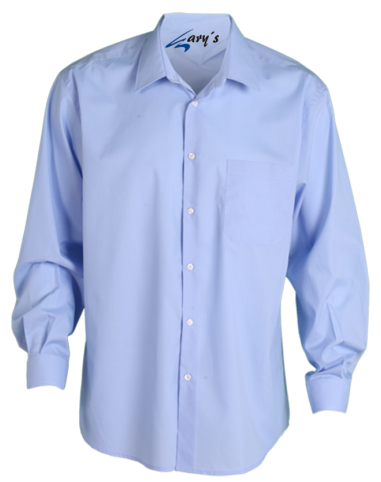 CAMISA HOSTELERIA GARY LARGA COLOR