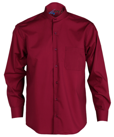 CAMISA HOSTELERIA GARY LARGA MAO COLOR