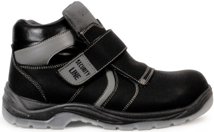 BOTA SOLDADOR SECURITY LINE NEW NILO S3 CI SRC NEGRO