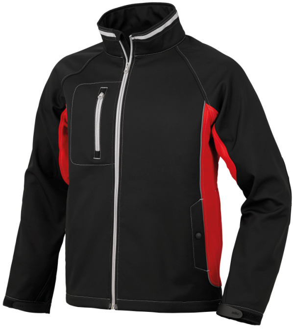 SOFTSHELL ISSA BOLT STRETCH NEGRO