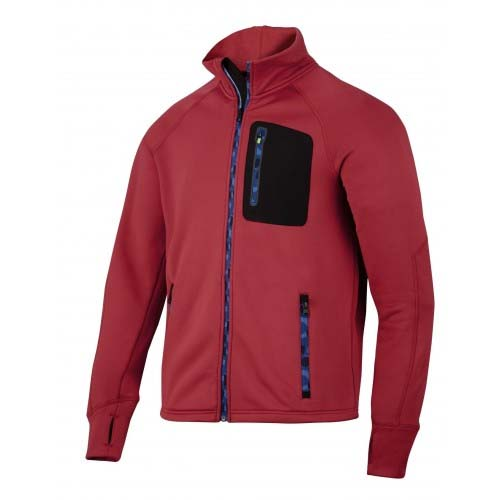 SUDADERA SNICKERS STRETCH ROJO