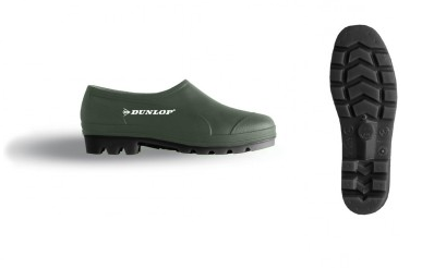 ZAPATO AGUA WELLIE DUNLOP VERDE OLIVA