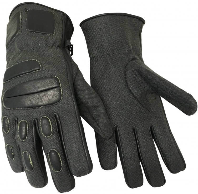 GUANTE ANTICORTE DRAGON KEVLAR® 500ºC NEGRO