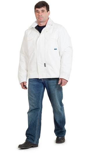 ANORAK ANTIFRIO CHOIVA IMPERMEABLE BLANCO