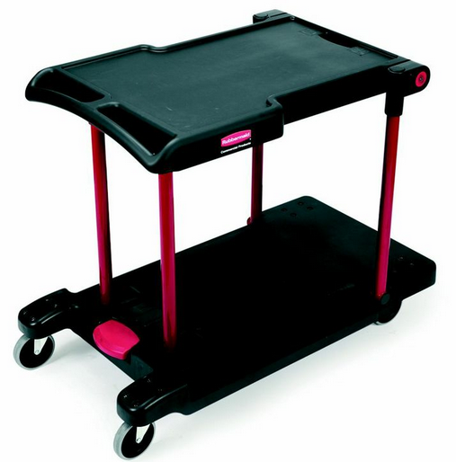 CARRO RUBBERMAID CONVERTIBLE 3 EN 1