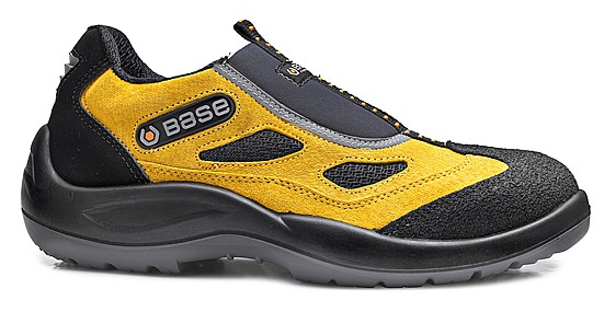 ZAPATO BASE FOUR HOLES S1P SRC AMARILLO