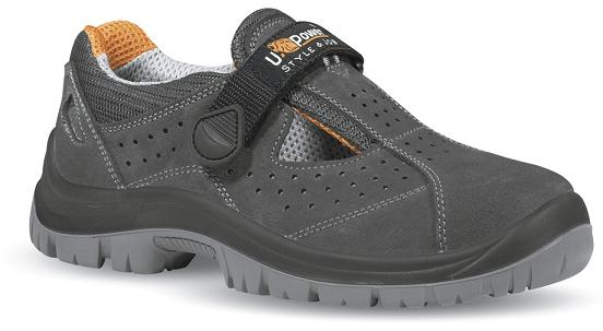 ZAPATO UPOWER MAGIC S1P SRC SERRAJE GRIS