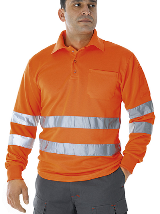 POLO ALTA VISIBILIDAD PRIMA BLOCKER CLASSIC LARGA COLOR