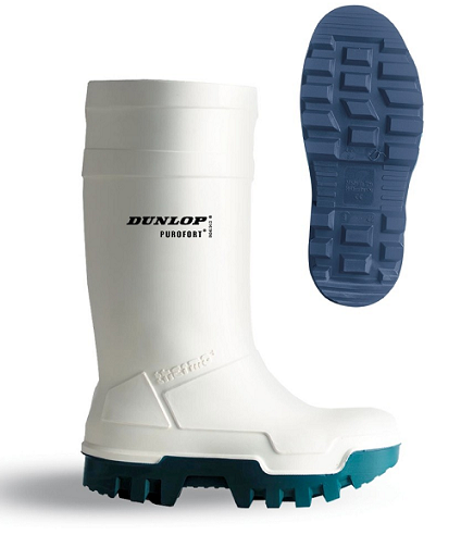 BOTA PUROFORT THERMO PLUS DUNLOP -50º BLANCA