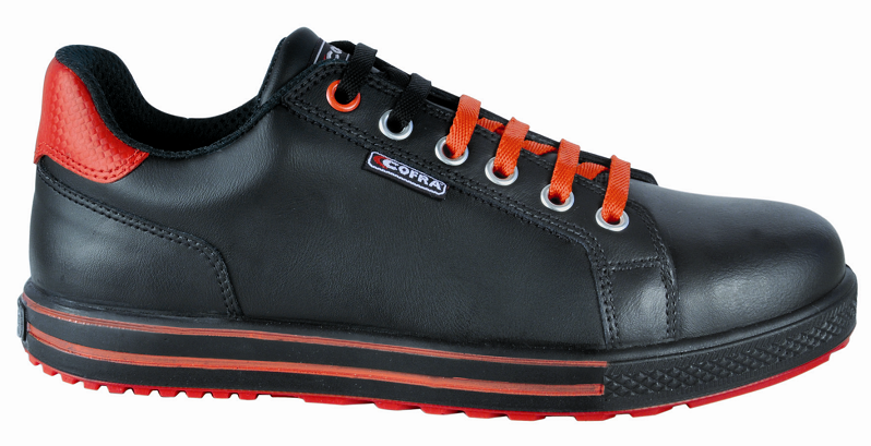ZAPATO COFRA FLEX OLD GLORIES S3 SRC NEGRO
