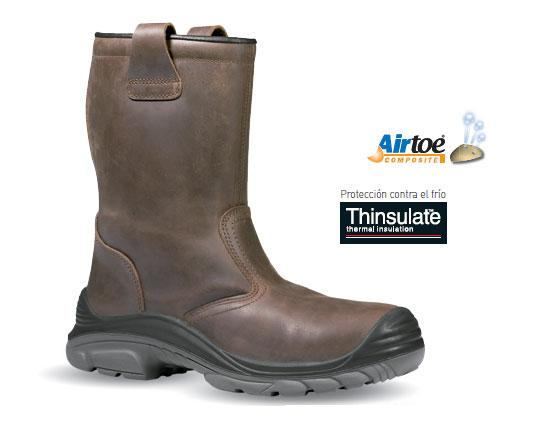 BOTA UPOWER NORDIC PLUS S3 CI SRC THINSULATE® MARRON
