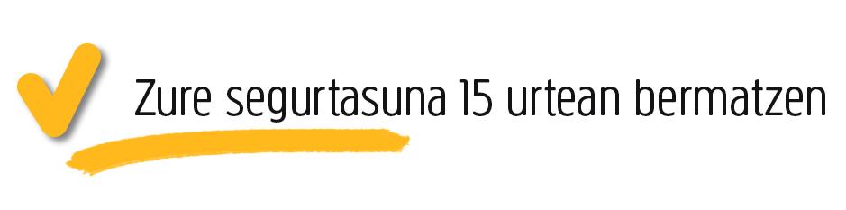 15urtean